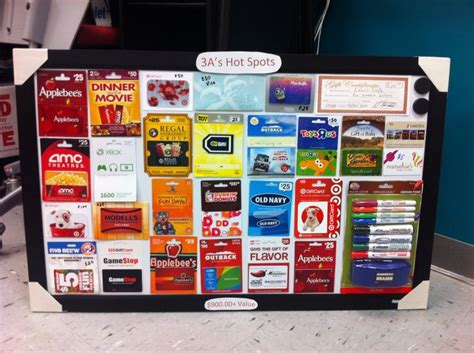 17 best images about gift card raffle display on pinterest gift card displays gift - Gift Card Raffle Display