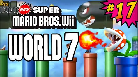 7 Tips On Mario Wii With A Partner by New Mario Bros Wii 100 Walkthrough Part 17 World
