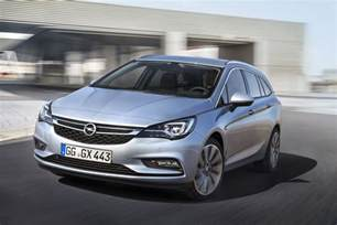 Opel Asrta 2016 Opel Astra K Sports Tourer Gm Authority