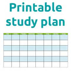study plan template for students studyclix study plan for junior and leaving cert