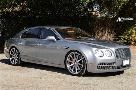 matte black bentley flying spur bentley flying spur custom wheels ac acr 413 22x9 0 et