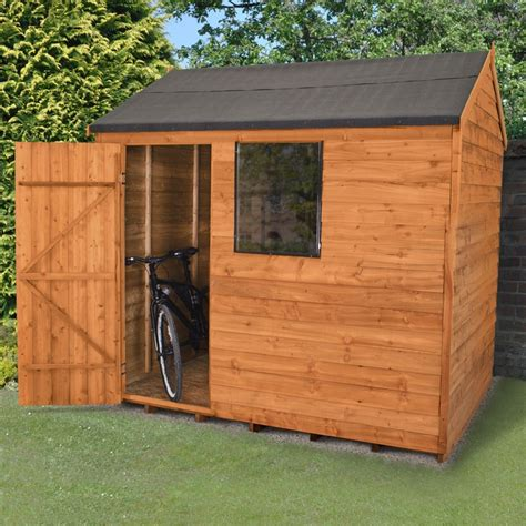 8x6 Sheds For Sale by Forest 8x6 Overlap Dip Treated Apex Shed Buy