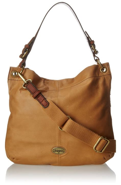 Fossil Hobo Bag In Bag fossil explorer hobo shoulder bag visuall co