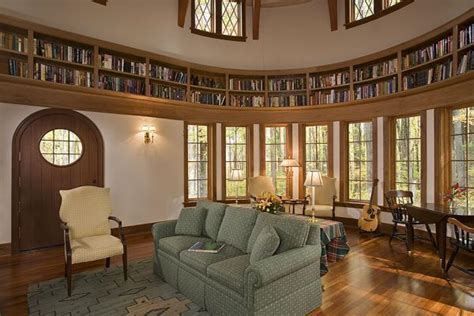 circular room circular bookcase how to be literally surrounded by knowledge