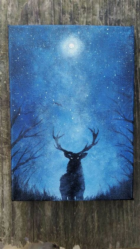paint nite deer the 25 best deer paintings ideas on deer