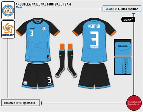 Kaos Bola Fifa Logo 1 anguilla national football team home away gk
