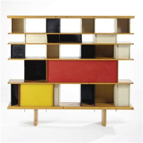 How To Design A Bookshelf by Charlotte Perriand Design