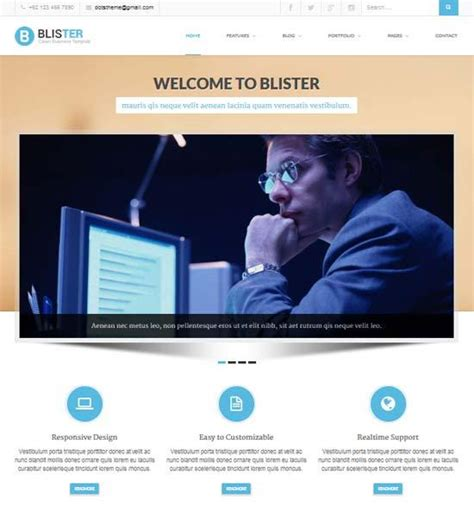 premium business website templates 20 free premium business website templates