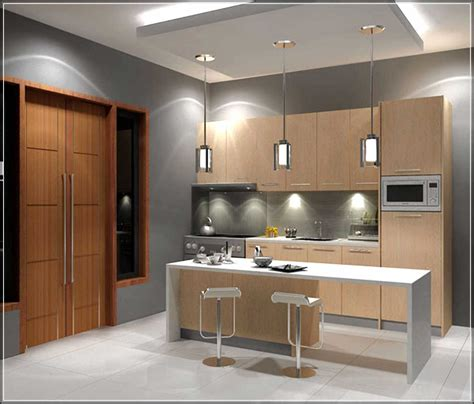 fill the gap in the small modern kitchen designs modern