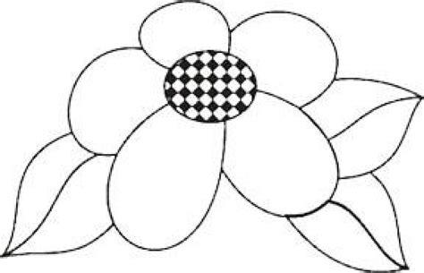 imagenes de flores sin pintar dibujos para colorear de papel imagui
