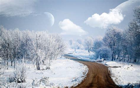 imagenes invierno fondo pantalla camino de invierno fondos de pantalla camino de invierno
