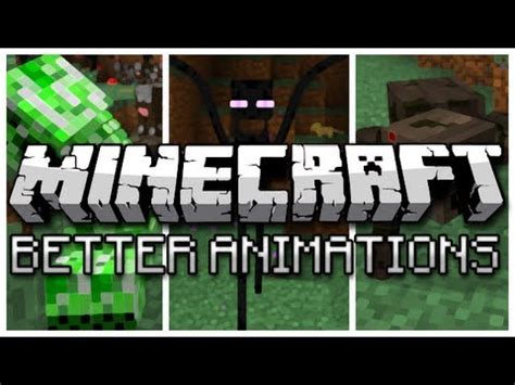minecraft better animations mod minecraft better animations collection mod