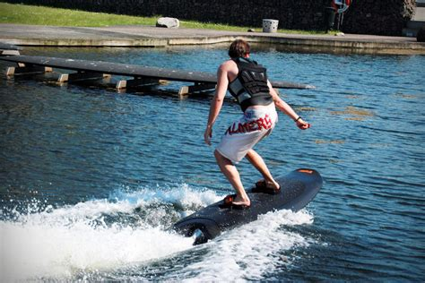wakeboard without boat this electric wakeboard lets you wakeboard without a