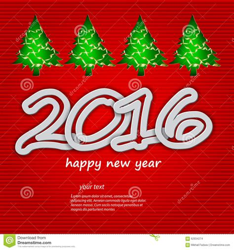theme for new year happy new year 2016 theme stock vector image
