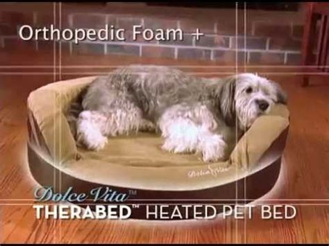 As Seen On Tv Cat Bed by Dolce Vita Therabed Heated Pet Bed As Seen On Tv