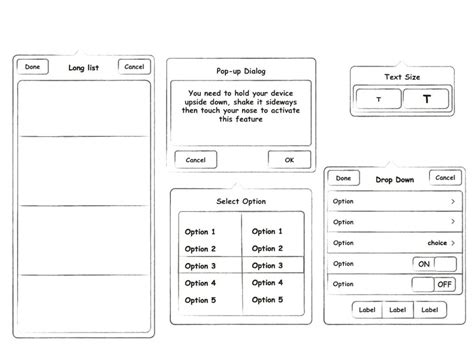 facebook ui prototyping templates for apple keynote