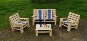 construire du mobilier de jardin avec des palettes de bois