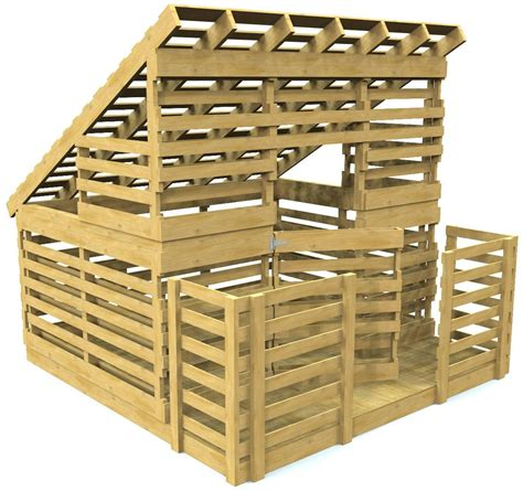 pauls pallet playhouse  diy woodworking plan paul