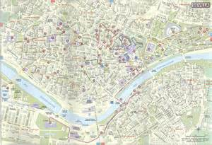 Seville Spain Map by City Map Of Seville Spain Images