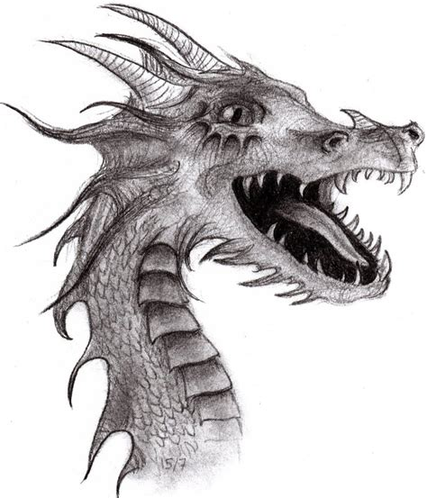 Drawing Dragons by Drawing By Asyourfallingdown On Deviantart
