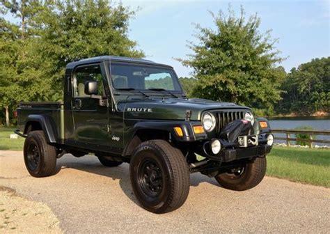 jeep brute single cab sell used 2006 jeep wrangler tj rubicon aev brute pick