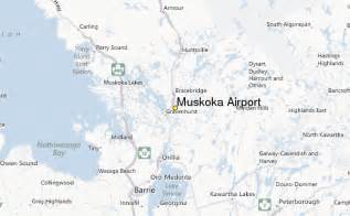 muskoka canada map muskoka airport weather station record historical