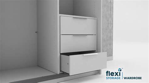 Wardrobe Drawers Inserts - how to build flexi storage wardrobe