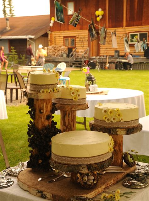rustic traditional country style wedding cakes yellow ic flickr