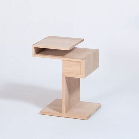Table De Nuit Scandinave by Table De Chevet Personnalisable En Bois Au Design
