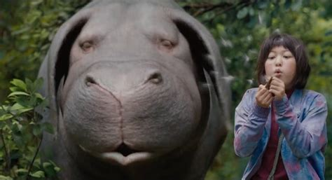 film giant pig netflix big beast thriller okja impresses at cannes