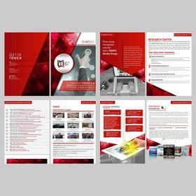layout perusahaan pt company profile design portfolio sribu