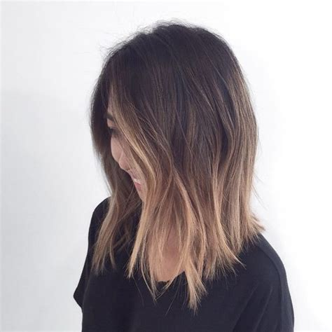 a line ombre color and length hair pinterest a line pandora
