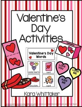 valentines day vocabulary s day vocabulary unit activities autism