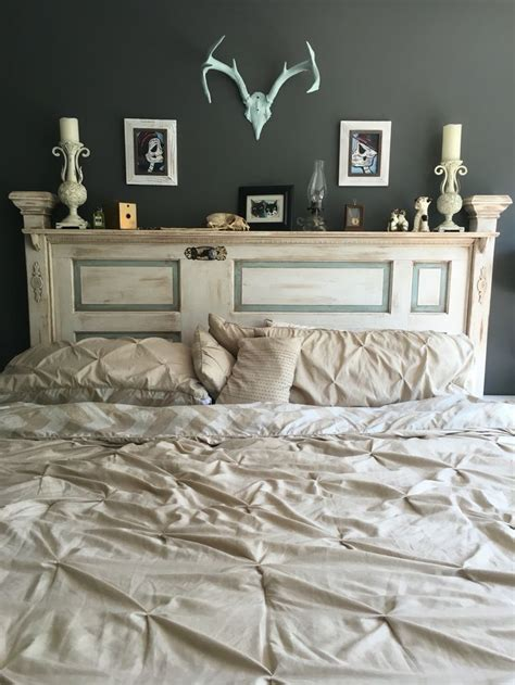using an old door as a headboard best 25 antique door headboards ideas on pinterest door