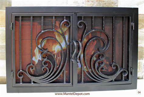 cast iron fireplace doors fireplace ideas
