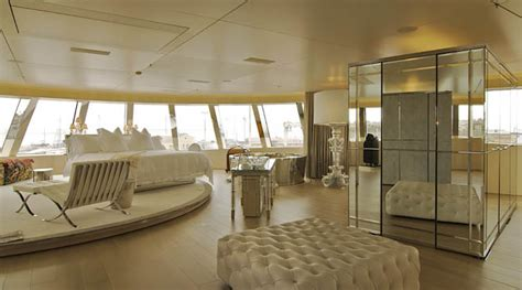 steve jobs bedroom mega yacht quot a quot designed by philippe starck