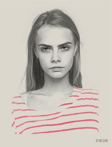 imagenes de retratos realistas los hermosos y delicados dibujos realistas de kei meguro