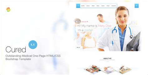 bootstrap templates for doctors 15 health bootstrap templates free premium themes