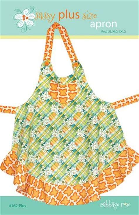 apron jazz pattern sassy plus size apron printed pattern cabbage rose