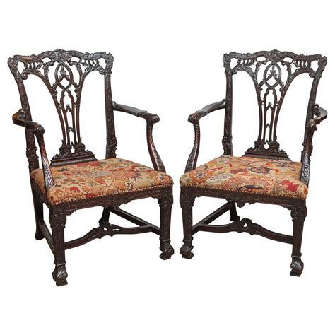 oversized armchairs for sale pair of 19th century english mahogany oversized armchairs