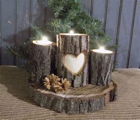 Decorating With Sconces by Add Warmth To Your Home With These Rustic Log Decor Ideas