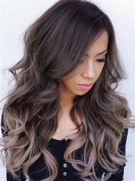 long dark brown ombre hair dark brown ombre ash blonde long way full lace human hair