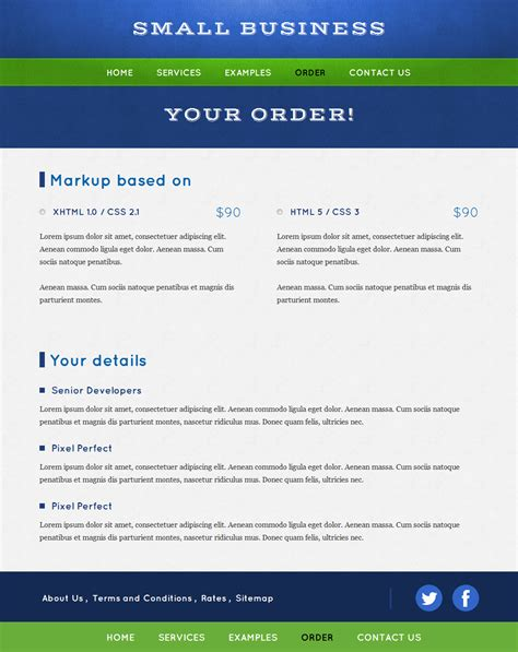 business portfolio template psd small business portfolio free html theme site