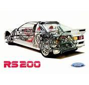 フォードRS200カタログ