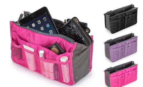 Get Organised With The Expandable Purse Organiser by The Kansas City Stay Organized On The Go With The