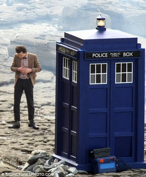 his time has come new doctor who matt smith begins filming with his gorgeous redheaded