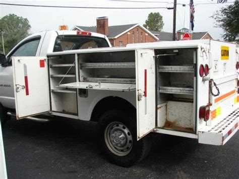 stahl utility bed buy used clean stahl utility bed fleet maintained truck
