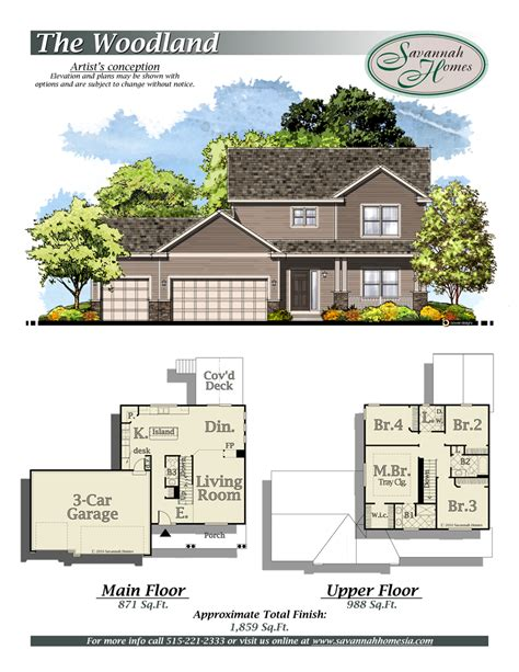 100 woodland homes floor plans wl 6806b deer valley