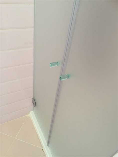 ante doccia box doccia in cristallo chiaro satinato vetreria