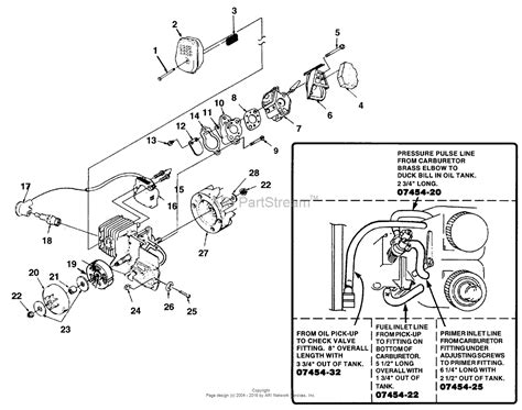 poulan chainsaw fuel line diagram walbro carburetor fuel line routing imageresizertool